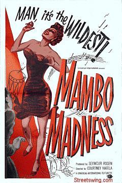 Mambo Madness movie poster, 1955