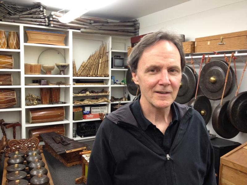 Jarrad Powell, professor of composition and gamelan at Cornish College of the Arts, hosted Cage during his last residency in Seattle and teaches his works.