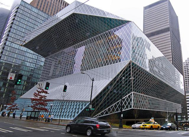 Seattle's Central Public Library was built with money from a 1998 voter-approved bond measure. Now the city is asking voters to fund a levy for operations as well.