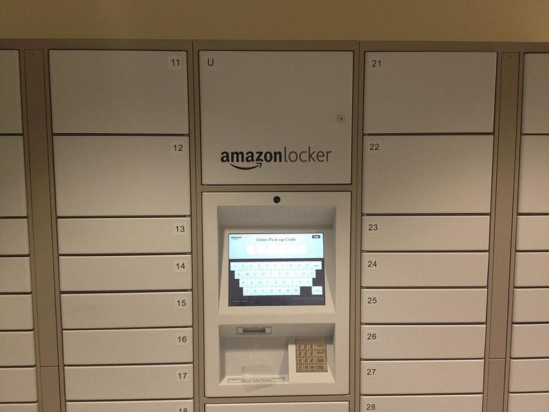 If you place an order with Amazon in Seattle, New York, Washington, D.C., or London, the lockers will show up as a shipping option.