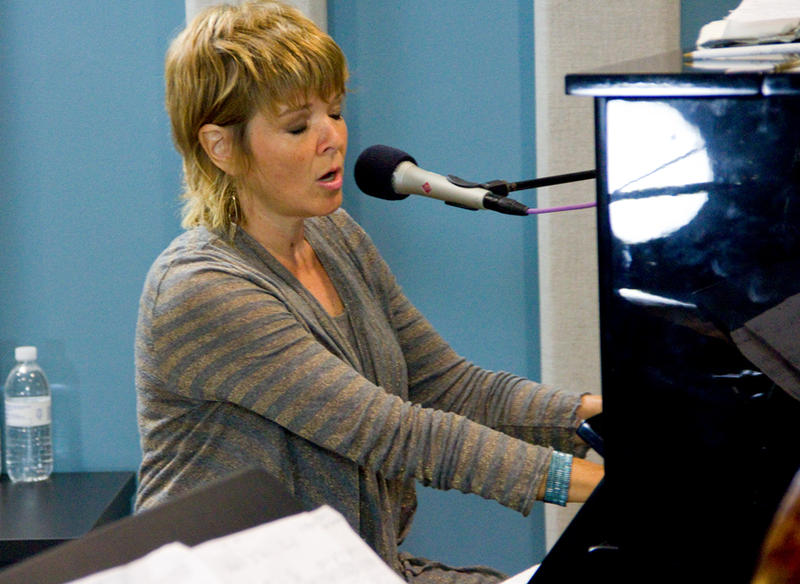 Karrin Allyson performing live in the KPLU studios on August 16, 2012.