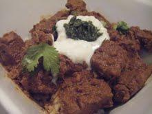 Nancy's Sri Lankan beef curry.