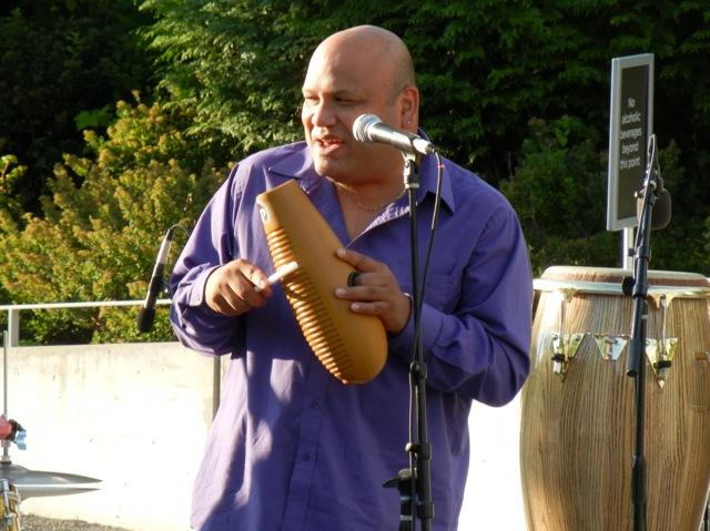 Carlos Cascante at the Olympic Sculpture Park concert
