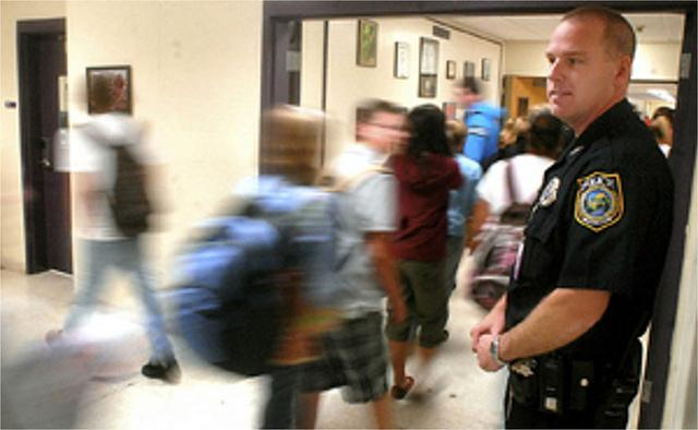 The Washington Supreme Court ruled that police officers based at schools are still police officers.
