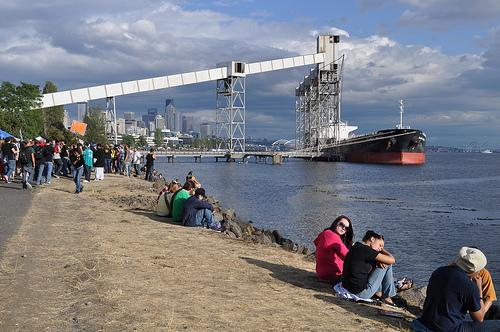 Seattle's grain terminal