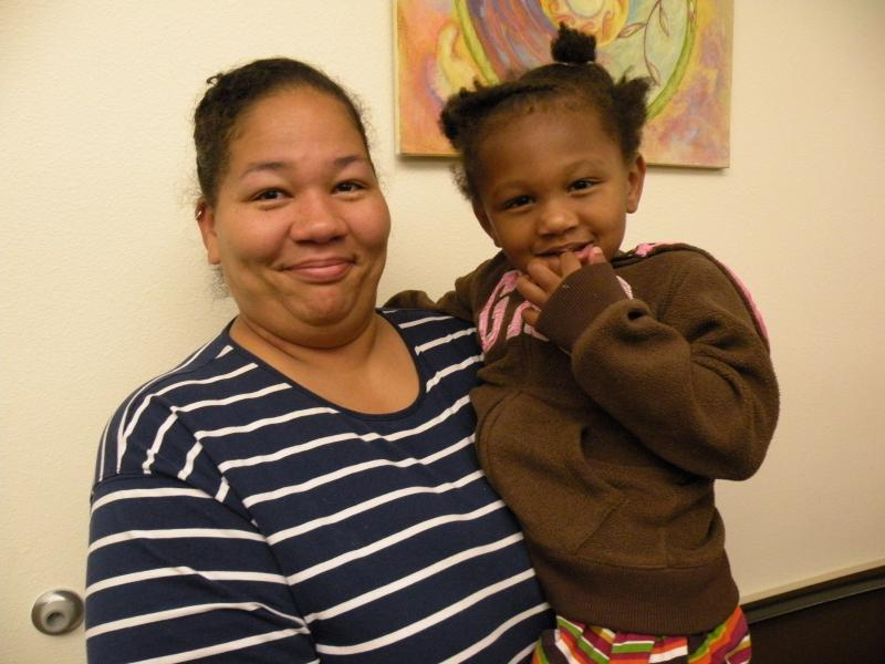 Diane Rivers has been homeless off and on since she was pregnant with her now three-year-old daughter, Christina