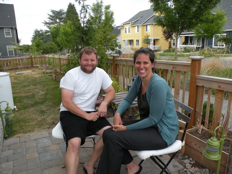 John Harrison and Helen Biersack are homeowners who moved into the mixed-income community of High Point in West Seattle in April
