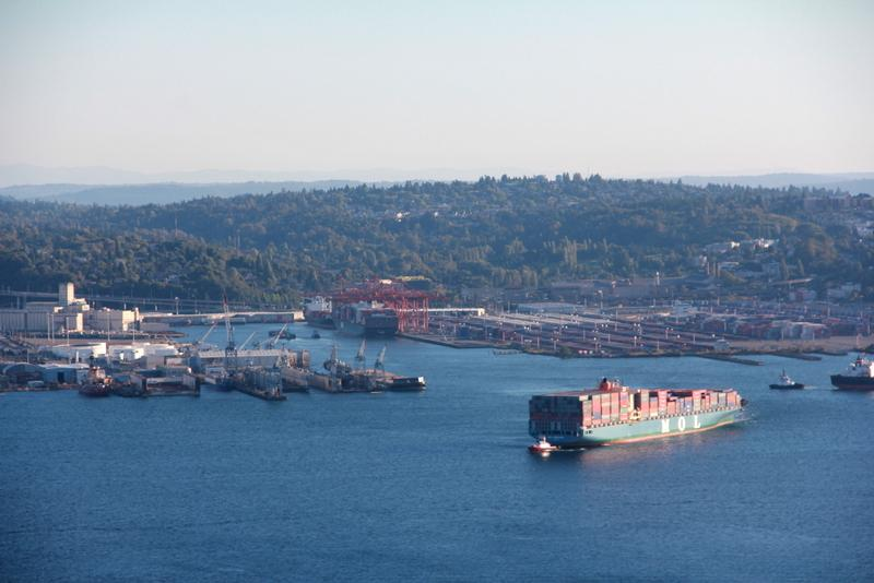 West Seattle is surrounded by heavy industry - could the mysterious hum bothering residents be coming from ships?
