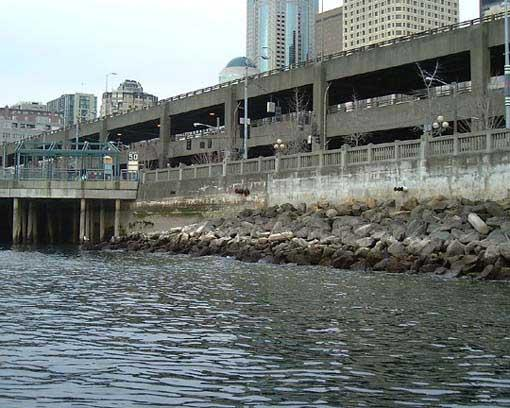 Seattle's seawall has been standing at the edge of the waterfront since the 1930s.