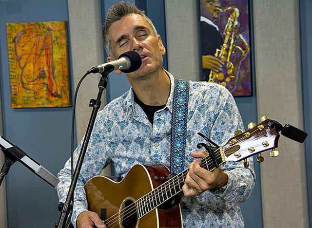Curtis Stigers performing live in the KPLU Seattle Studios on September 11, 2012.