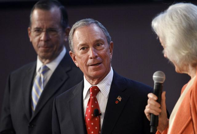 The grant challenge New York City Mayor Michael Bloomberg (above) was announced Monday by Washington United for Marriage.