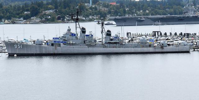 The USS Turner Joy in Bremerton.