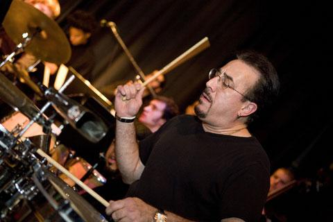 Bobby Sanabria on timbales