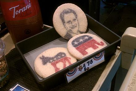 Even the Obama display cookie got sold