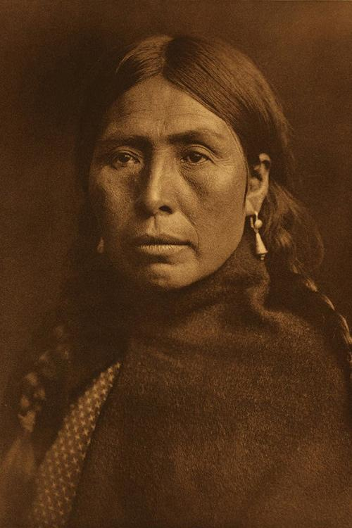 Lummi Type, a portrait of a Lummi woman