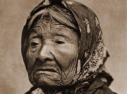 Princess Angeline, the oldest and last surviving child of Chief Seattle