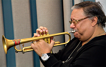 Trumpet legend Arturo Sandoval's studio session performance from January tops our list with more than 260,000 views on YouTube, alone.