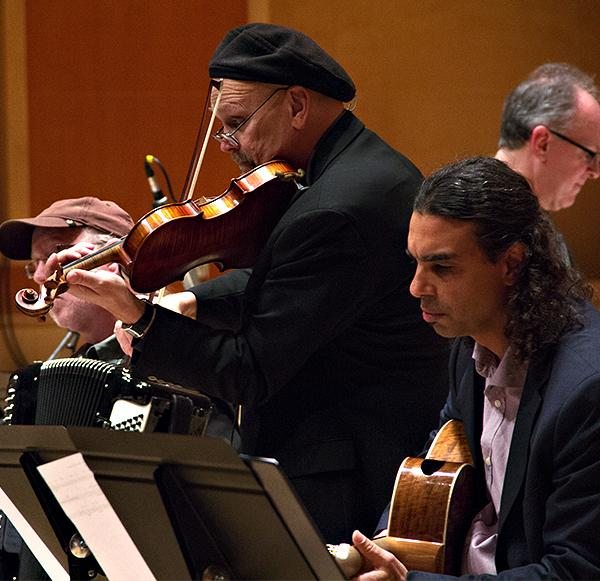 Pearl Django performing with the PLU Jazz Ensemble on December 6, 2012.