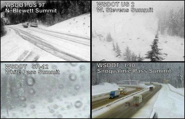 "Screenshots from the <a target=""_blank"" href=""http://www.wsdot.com/traffic/passes/"">WSDOT traffic cameras</a>."