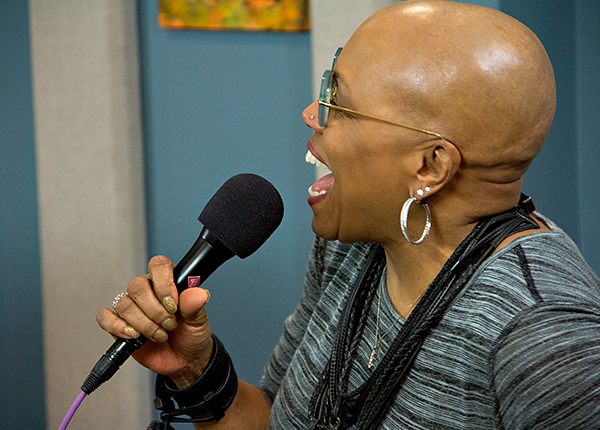 Dee Dee Bridgewater in the KPLU Seattle studios on January 22, 2013.