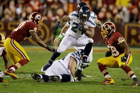 Art Thiel says Seahawks running back Marshawn Lynch is the key to beating the Falcons Sunday.