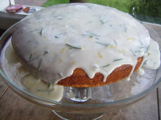 The cornmeal-rosemary-lemon cake from Tom's Big DInners