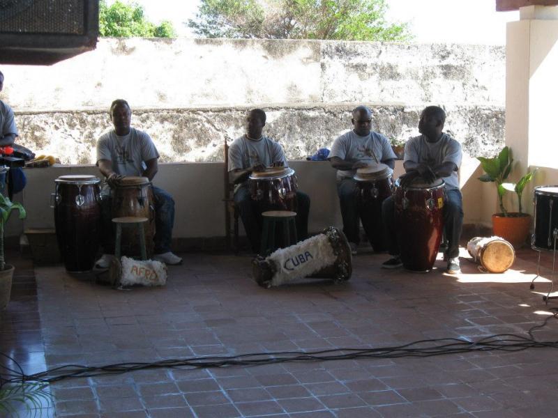 African drummers, Matanzas, Cuba