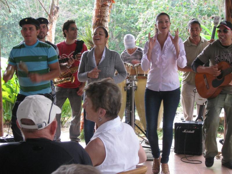 Band at Las Terrazas, Cuba