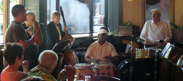 Lary Barilleau and the Latin Jazz Collective at Columbia City Theater's Bourbon Bar