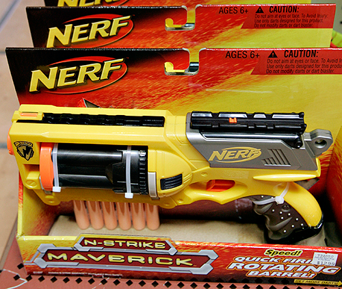 Pasco first-grader suspended for talking about Nerf guns