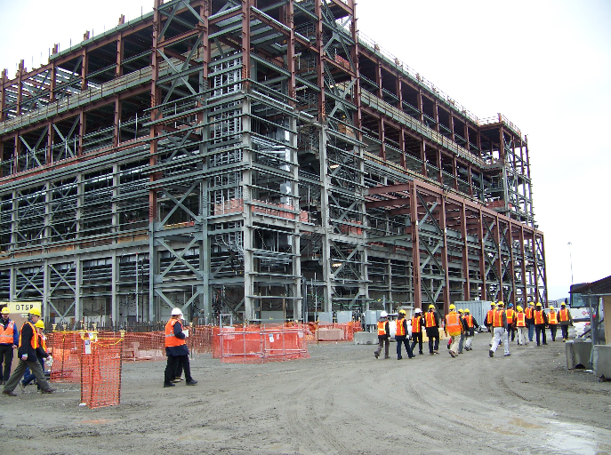 Gov. Jay Inslee toured the Hanford plant earlier this month.