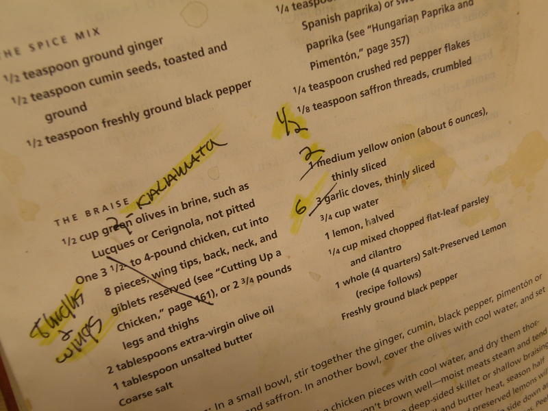 Some notes I've made on one of my favorite recipes from one of my favorite authors -- Molly Stevens' All About Braising.