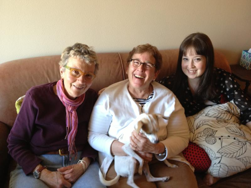 Elyse Zandonella, Meredith Stannard and Drew Zandonella-Stannard