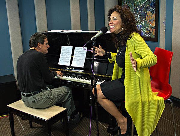 Jackie Ryan and Seattle pianist, Randy Halberstadt, perform live in the KPLU Seattle studios on March 11, 2013.