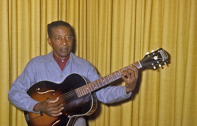 Lonnie Johnson, one of the first guitar masters.