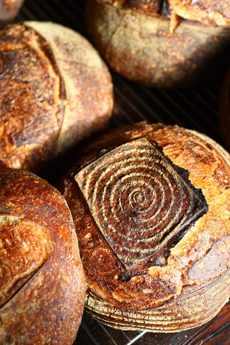 Michael Sanders' beautiful bread