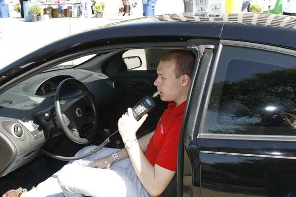 An ignition interlock is a breath test device linked to a vehicle's ignition system.