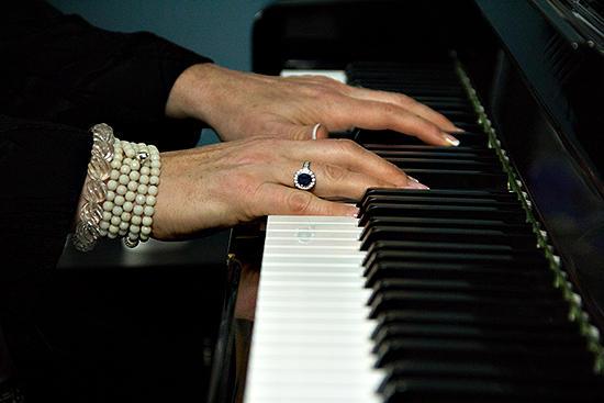 Ann Hampton Callaway performs live in the KPLU Seattle studios on May 10, 2013.