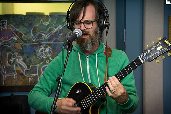 Mike Andrews performing live with the Greyboy Allstars on May 17, 2013 in the KPLU Seattle studios.