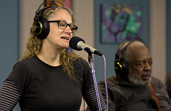 Joan Osborne performing live with The Holmes Brothers in the KPLU Seattle Studios on April 19, 2013.