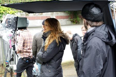 Director Lynn Shelton on location in Seattle