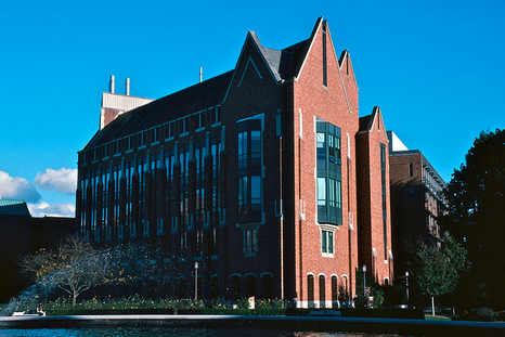 University of Washington's electrical engineering building is seen in this photo.