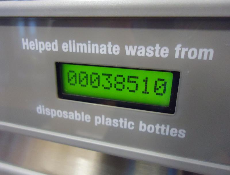 The hydration stations include a digital counter to show the hypothetical number of plastic bottles avoided. So far, students at WWU have tallied more than 200,000 fillups at three hydration stations. A fourth hydration station will be installed this fall