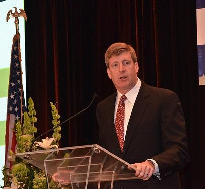 This photo shows former Rhode Island Congressman Patrick Kennedy.