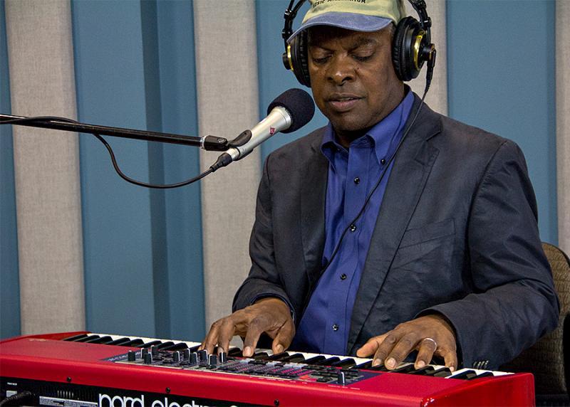 Booker T. Jones performing live in the KPLU Seattle studios on June 28, 2013.