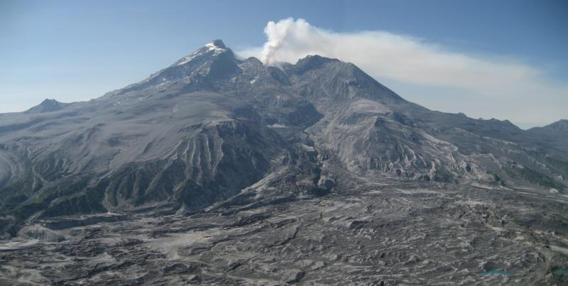"Mt. Redoubt erupted violently in 2009, after letting out a primal ""scream."""