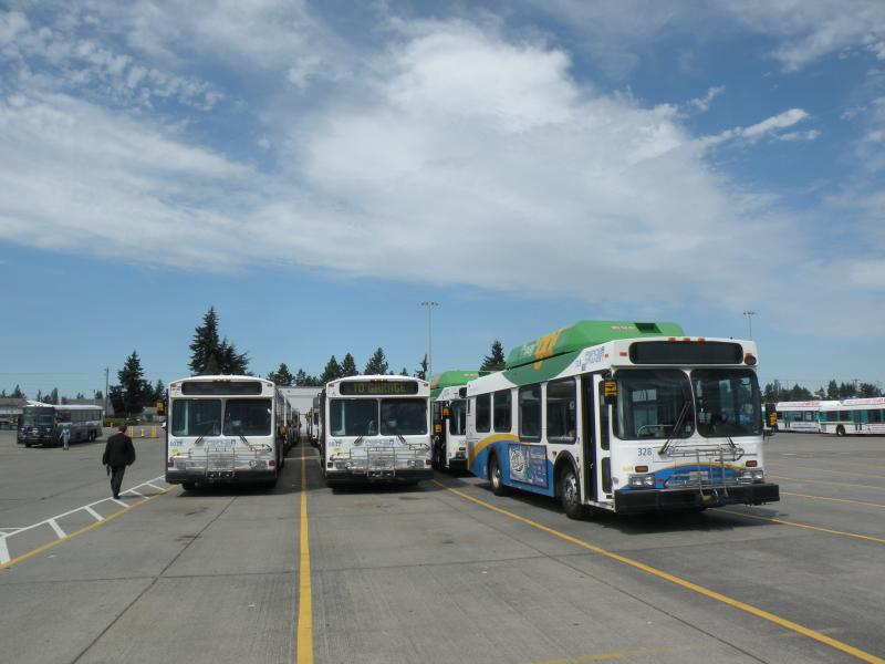 Pierce Transit has signed an agreement to use renewable natural gas produced at nearby Cedar Hills Regional Landfill.