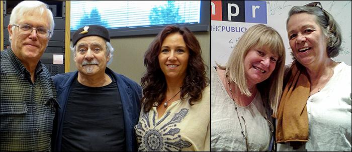 From left to right, Mike Yanega, Dick Stein, Stephanie Fisher, Nancy Leson, Jody Dills.