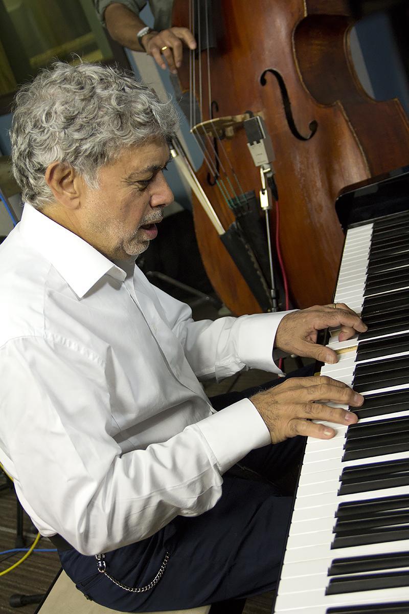 Monty Alexander performing live in the KPLU Seattle studios on August 9, 2013.