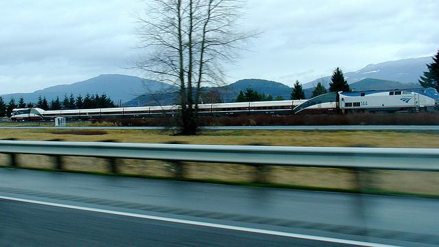 Amtrak Cascades trains were delayed 81 times last winter due to landslides.